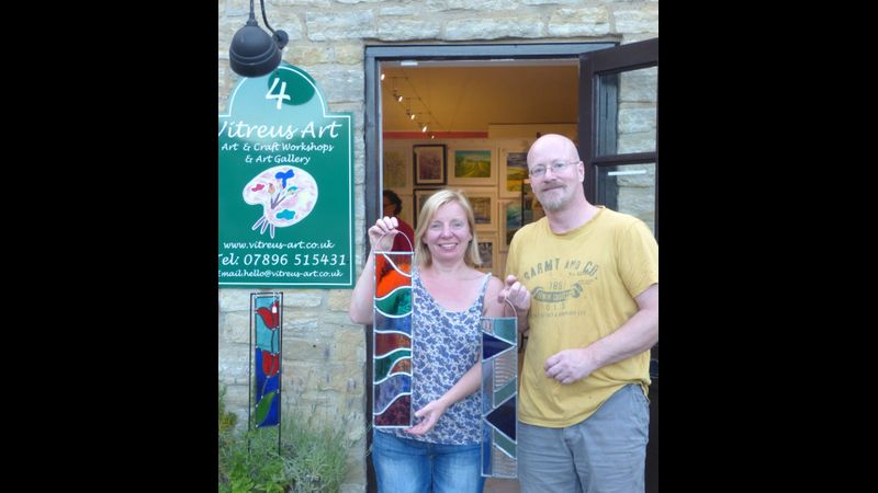 Learn the art of stained glass in just one day - suitable for beginners
