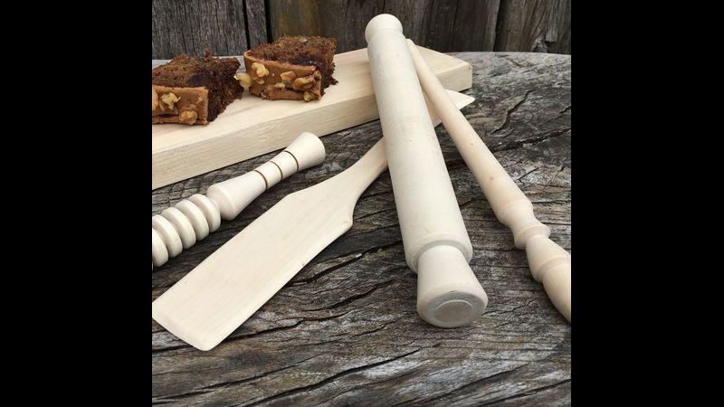 pole lathe wood turning course