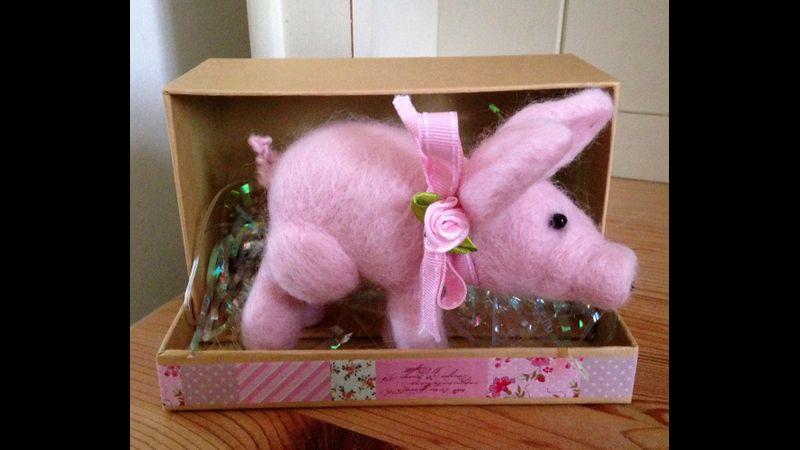 Needle Felting Workshop Pig - Weston-super-Mare, Somerset
