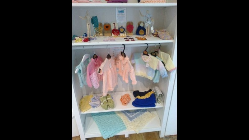 Knitted and crocheted items