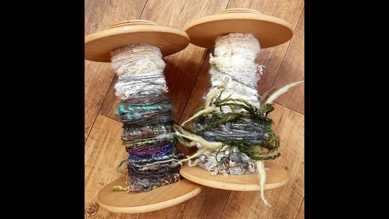 Creative yarn spinning