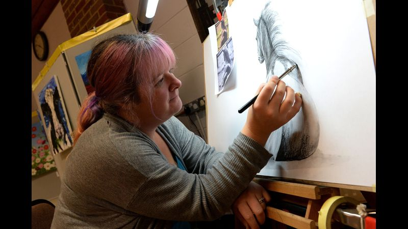 Work under the expert tuition of Bex Gouverneur