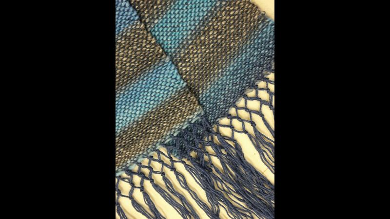 Woven and finished in a day long workshop