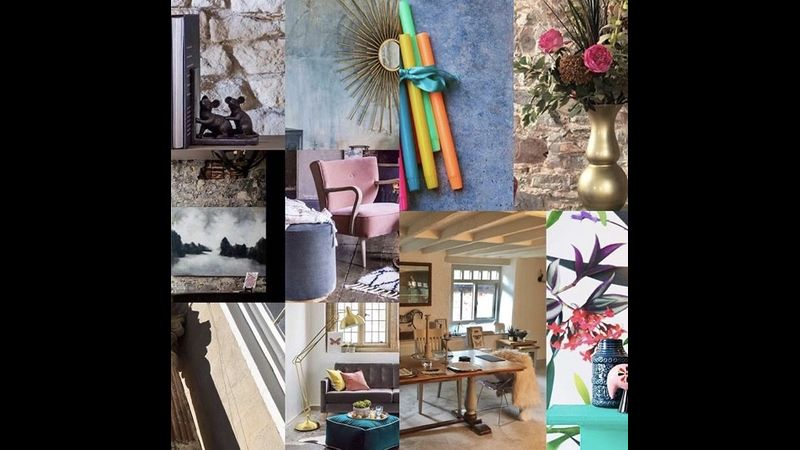 Moodboard imagery of our Studio at FLOCK