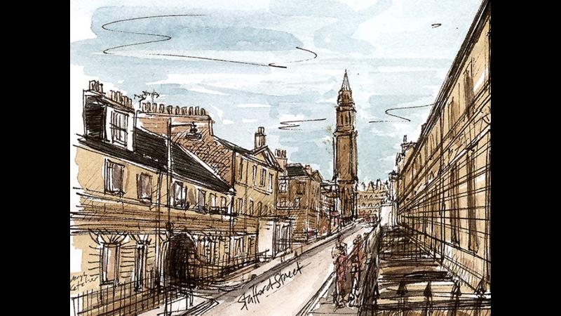 Edinburgh's Georgian New Town sketch