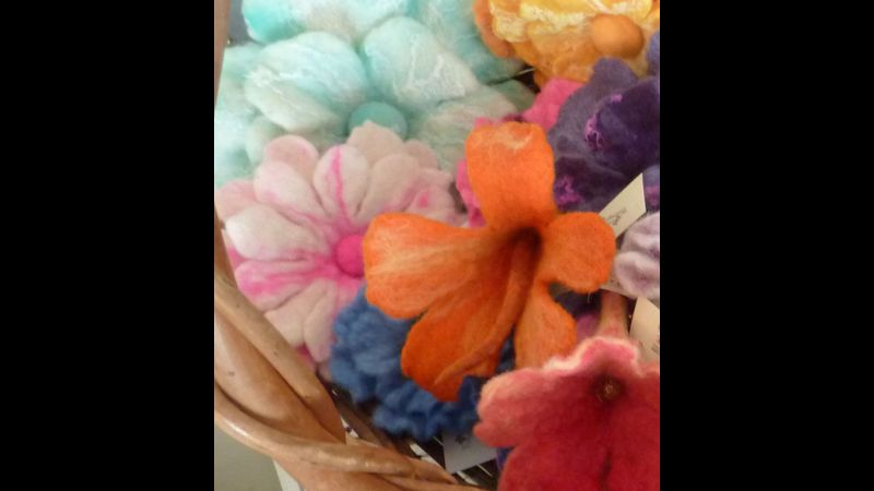 Fun with Felt Flowers at Home