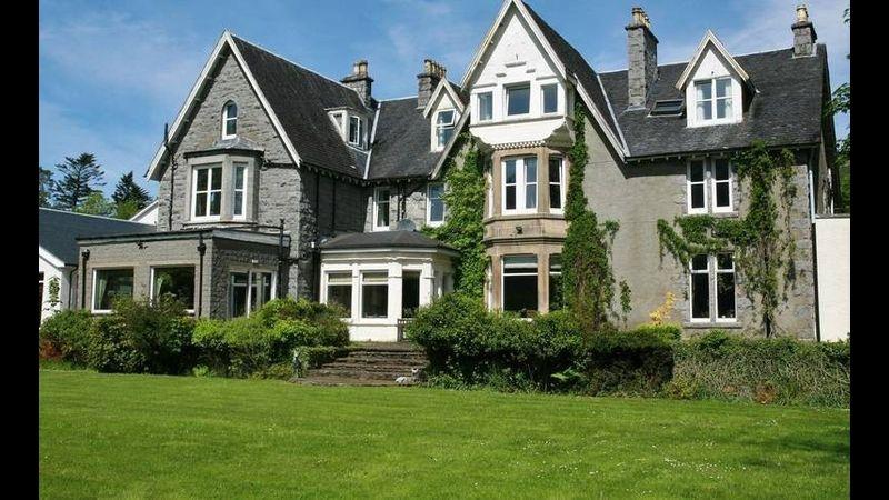 Alltshellach stately Scottish house