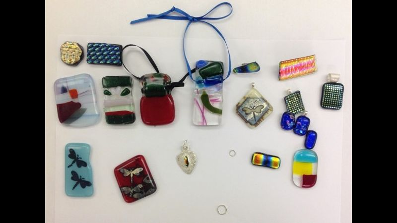 Enamelling techniques at the Mary Ward Centre