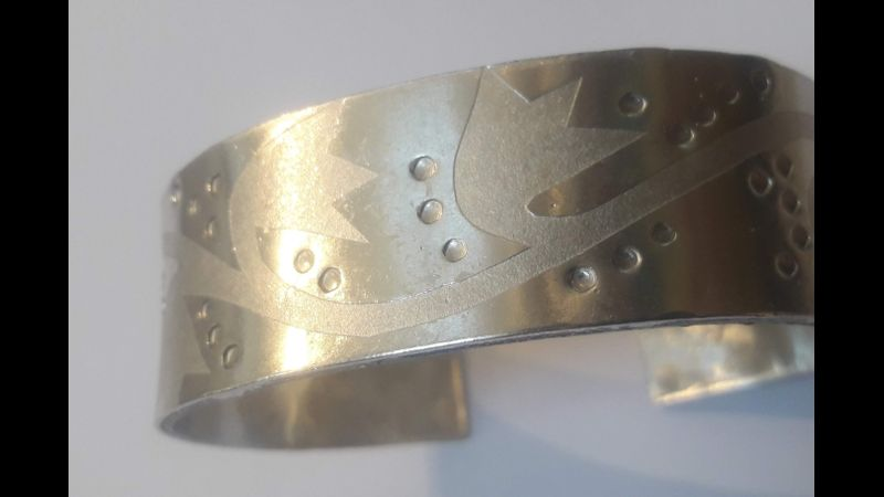 Make Pewter Bangles & more with Ella MacIntosh, a Quirky Workshop at Greystoke , nr Ullswater & Eden
