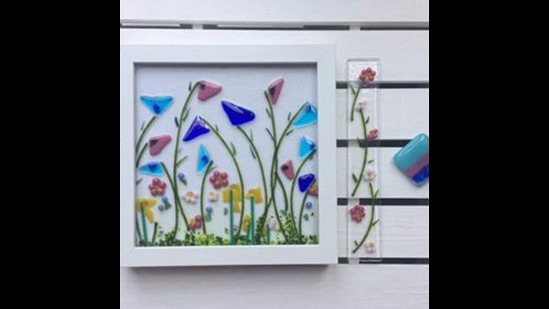 Glass fusing intermediate with Craft My Day