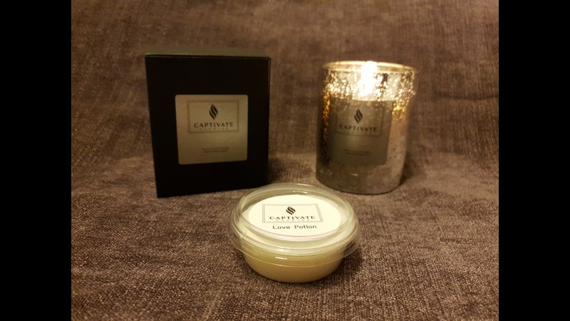 Exquisite highly scented candles
