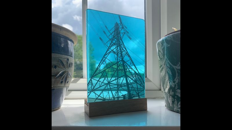 Your photos on glass
