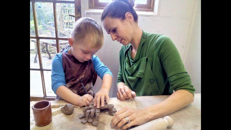 Elliott and his Mum