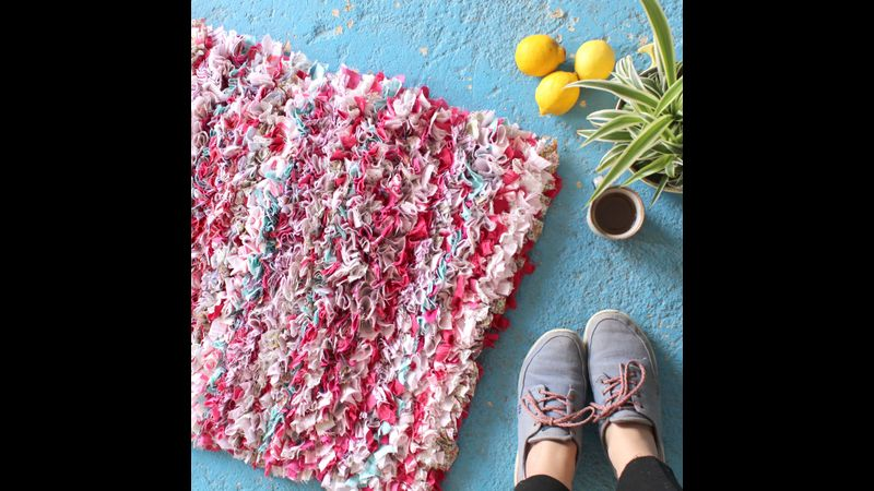 Learn how to Make a Rag Rug in York