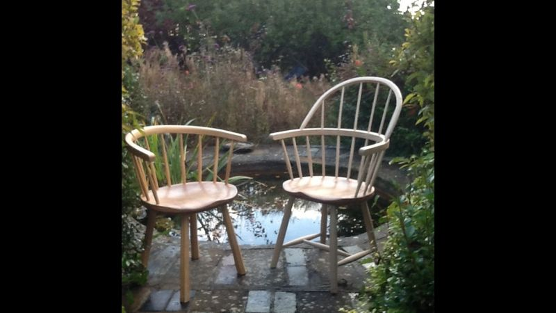 Windsor chairs Sussex green woodworking