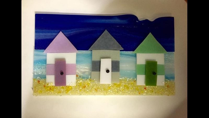 Beginner beach huts