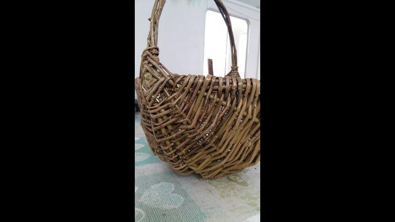 Willow Weaving Basket