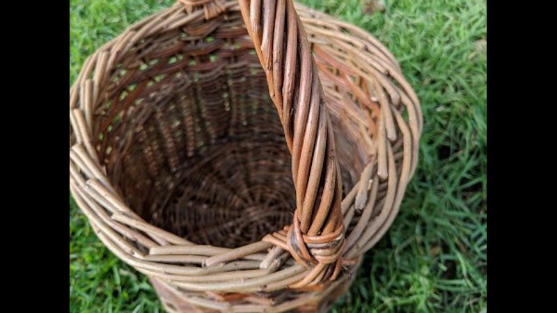 Your handmade willow basket