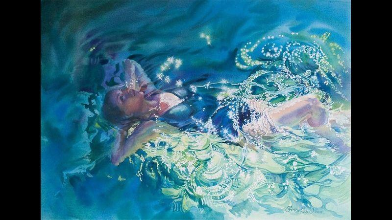 Gilly Marklew-Watercolour artist--Masking fluid