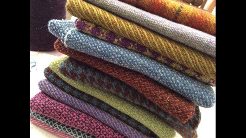 Tweed weaving workshop with Jan Beadle