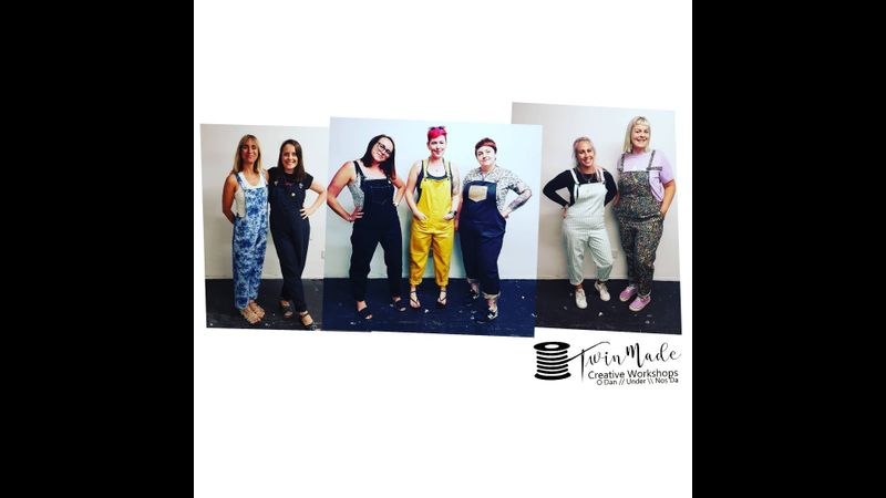 Dungaree Making Workshop with Twin Made in Cardiff