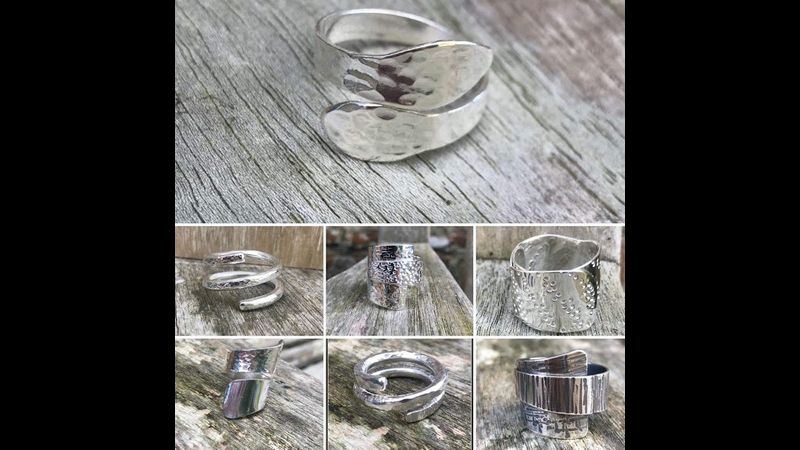 Wrapped Rings - Made By Our Students