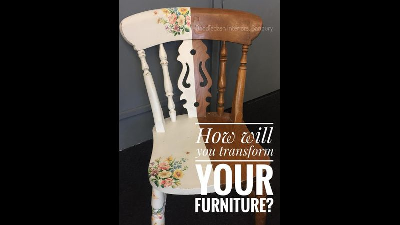 Upcycle your furniture with Frenchic Chalk Paint at Doodledash