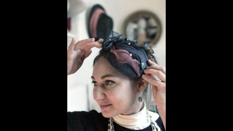 Elena Shvab Millinery, Fascinator Hat Workshop