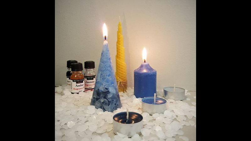 A selection of candles