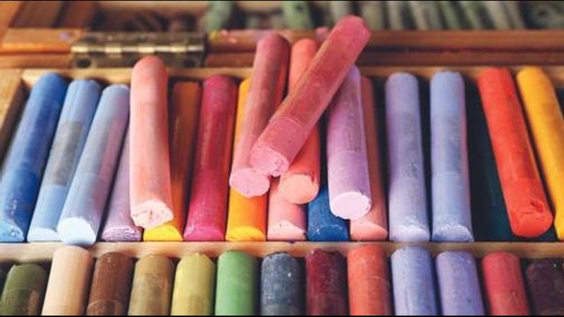 Expressive pastels in Northumberland