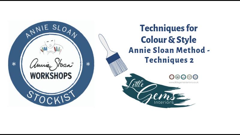 Annie Sloan Stockist Annie Sloan Techniques 2