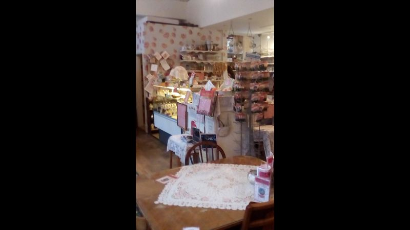 Inside the tearoom