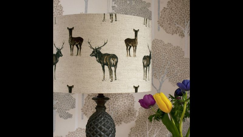Learn how to make a drum lampshade on this fun workshop with Two Little Lights