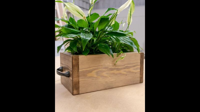 Learn how to make a wooden planter on this beginners woodworking workshop