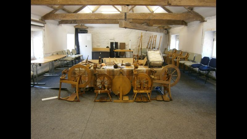 Spinning workshop Cromford Mills