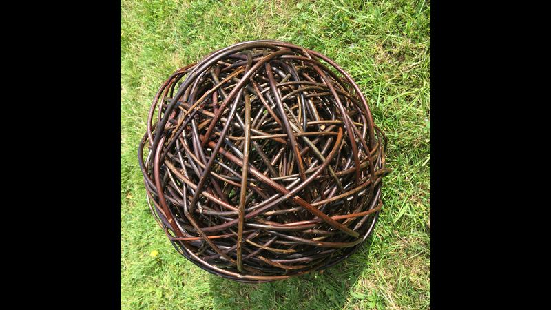 Random (Mad) Weave Sphere