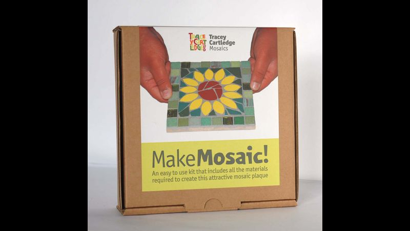 Sunflower,  Beginners Mosaic Kit