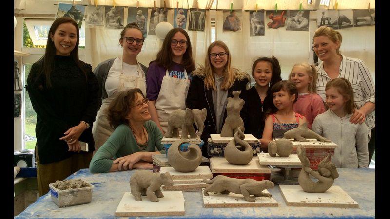 Family Intensive Sculpture Workshop