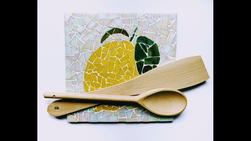 Lemon mosaic board