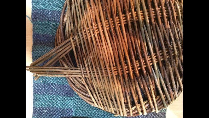 Willow plates - a great Christmas present for serving bread, fruit and veg.