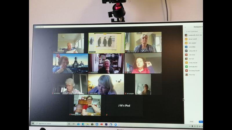 ZOOM workshop meeting