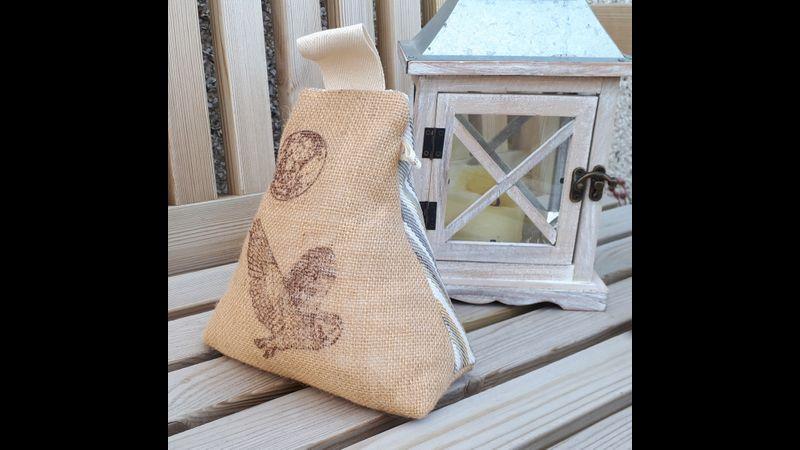 Eco friendly Owl doorstop.