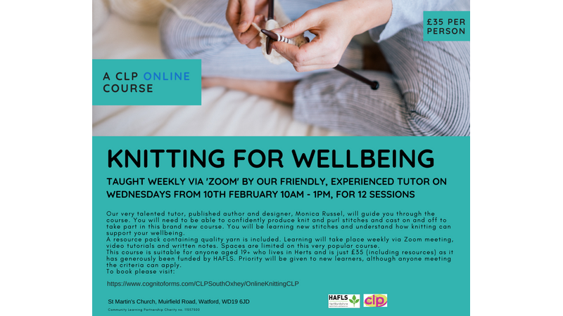 Knitting for Wellbeing