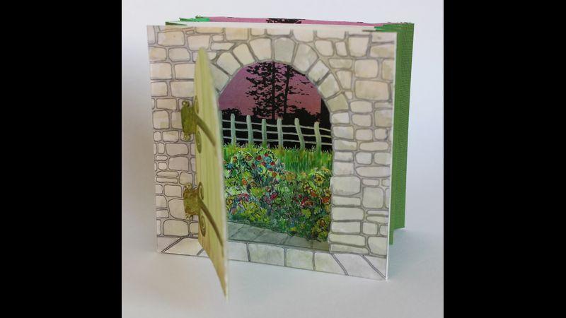 Example of a tunnel book ( the Secret Garden)