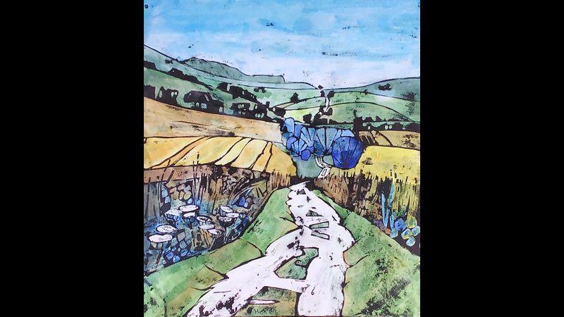 The Ridgeway towards Uffington
