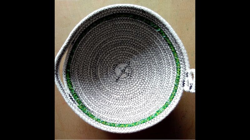 Coil Pot with wrapping