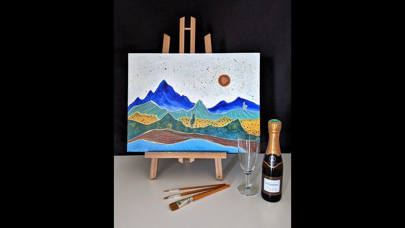Painting model: Atacama
