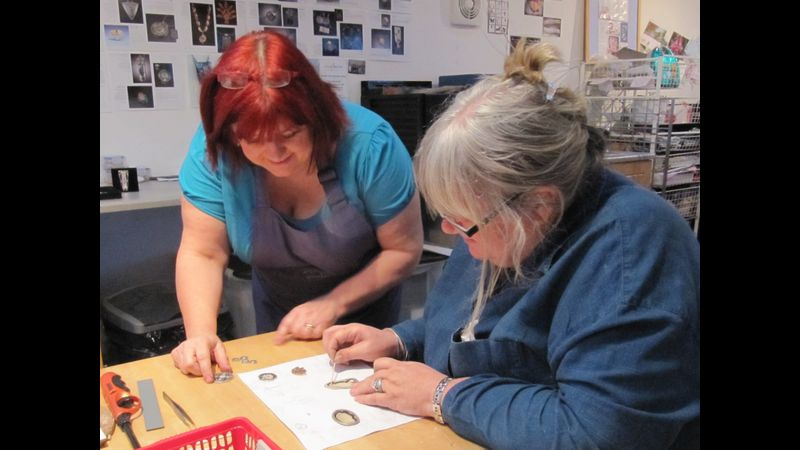 Craftworx private tuition with Tracey Spurgin of Craftworx Jewellery Workshops
