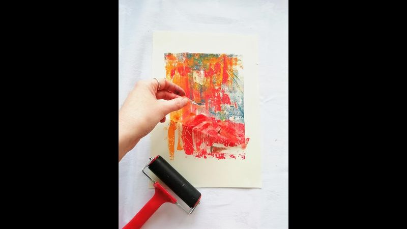 experiments in printmaking