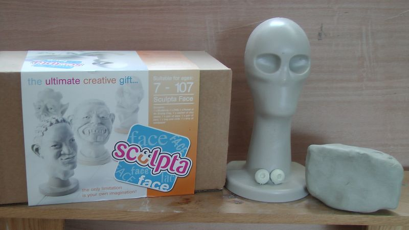 This is the Sculptaface kit